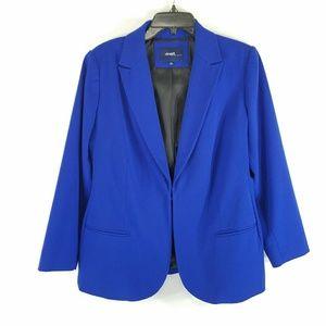 Eloquii Royal Blue Blazer Jacket